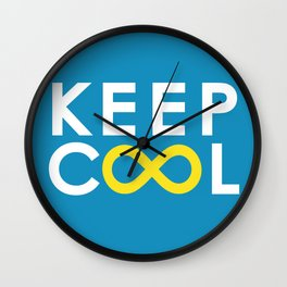 Forever coolness Wall Clock