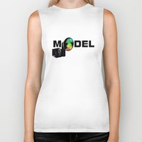 model Biker Tanks featuring Model by Tali Rachelle