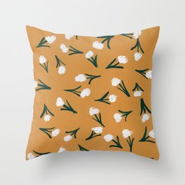 Dainty Saturday Throw Pillow