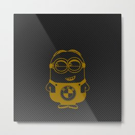 Carbon minion Metal Print