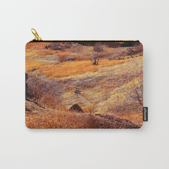 Valley in orange Carry-All Pouch