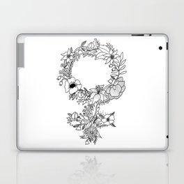 Feminist Flower  2.0 Laptop & iPad Skin