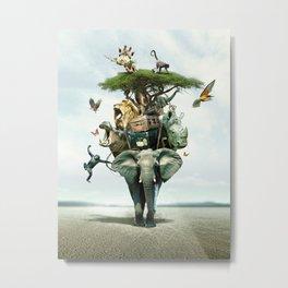 Savana Metal Print