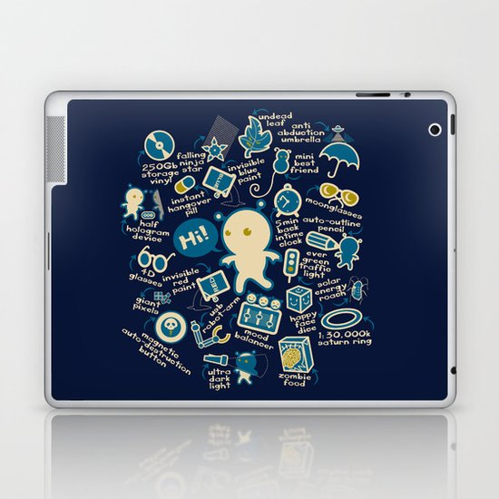 AWESOME BIBI'S GADGETS Laptop & iPad Skin