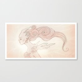 Alien Queen Canvas Print