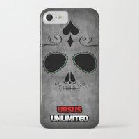 calavera iPhone & iPod Cases featuring Calavera by UrsusUnlimited