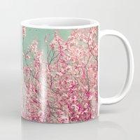 blossom Mugs featuring Blossom by Cassia Beck
