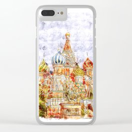 Moskow Clear iPhone Case