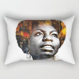 Nina Simone Rectangular Pillow