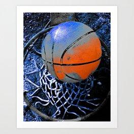 basketball print variant 3 Kunstdrucke
