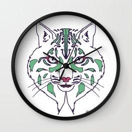LYNX transparent Wall Clock