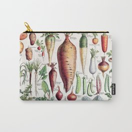 Adolphe Millot - Légumes pour tous - French vintage poster Carry-All Pouch
