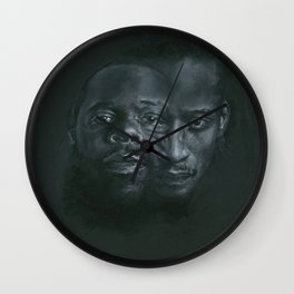 Dah Shinin' Wall Clock