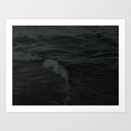 Night wave I Art Print
