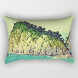 Heading towards Ohzu Rectangular Pillow