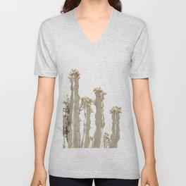 Desert Cactus Unisex V-Neck