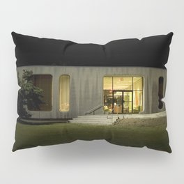 Building at Night Pillow Sham