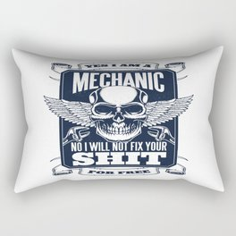 MECHANIC QUOTE Rectangular Pillow