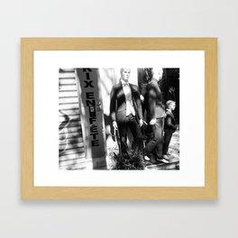 Boulevard de Magenta, Paris Framed Art Print
