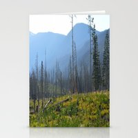 montana Stationery Cards featuring Montana by MelissaLaDouxPhoto