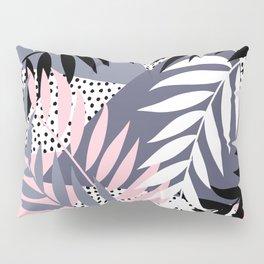 Palms on Polka Dots Pillow Sham