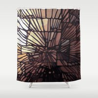 numbers Shower Curtains featuring NUMBERS by Jeff Larson