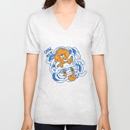 CHOW-MIEN Unisex V-Neck