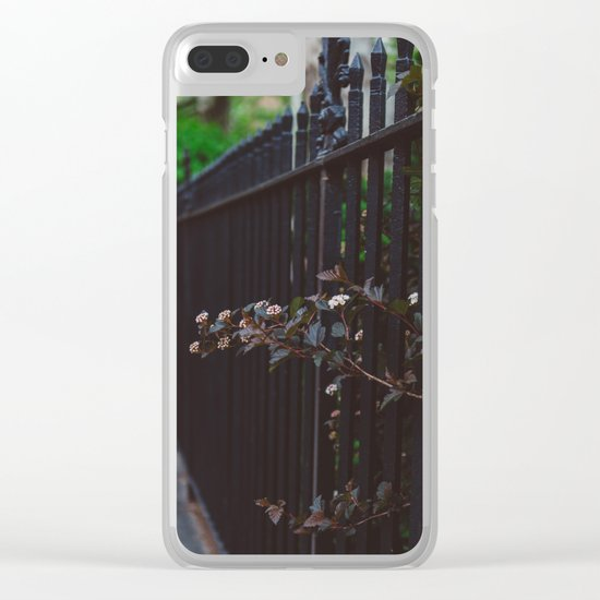 Keep Growing Clear iPhone Case