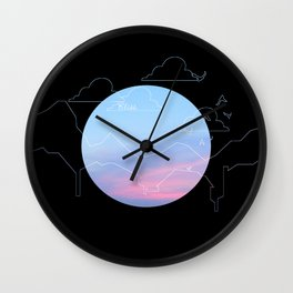 Bliss | Summer Wall Clock