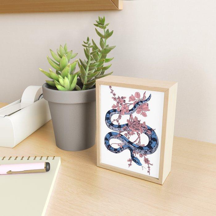 Jungle Snake Framed Mini Art Print