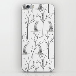 WINTER WEIMS iPhone Skin