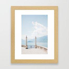 Summer at Bellagio, Lake Como / Italy Framed Art Print