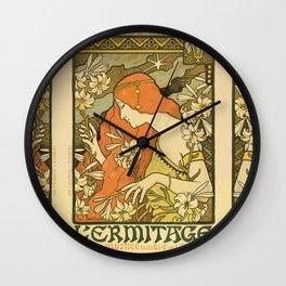 Art Deco Paris Wall Clock