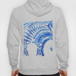 blue elephant watercolor Hoody