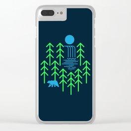 Nature Falls Clear iPhone Case