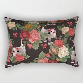 Opossum pattern Rectangular Pillow