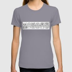 Six Pack (owl collective) Womens Fitted Tee Slate MEDIUM