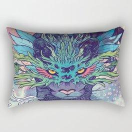 Spectral Cat Rectangular Pillow