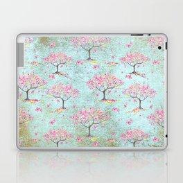 Spring Flowers - Cherry Blossom  Tree Pattern Laptop & iPad Skin