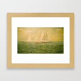 41° 30'N 71° 20'W   Framed Art Print