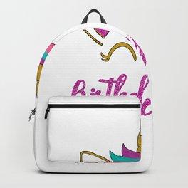 Unicorn Birthday Girl Backpack