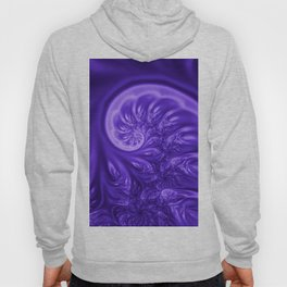 fractal design in violet -302- Hoody