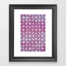 Broken Geometry 2 Framed Art Print