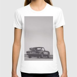 Supercar details, british triumph spitfire, black & white, high quality fine art print, classic car T-shirt