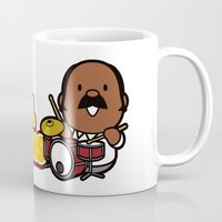drums Mugs featuring Soul Drums ! by bbq source
