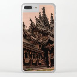 The Sanctuary of Truth Clear iPhone Case