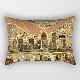 louisville city skyline 2 Rectangular Pillow