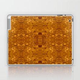 Golden Sequin Pattern Laptop & iPad Skin
