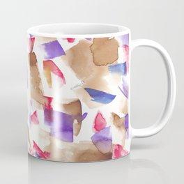 180719 Koh-I-Noor Watercolour Abstract 13| Watercolor Brush Strokes Coffee Mug