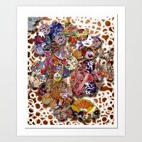 bali Art Prints featuring Bali by koopkol